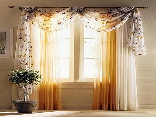 Dining room curtain